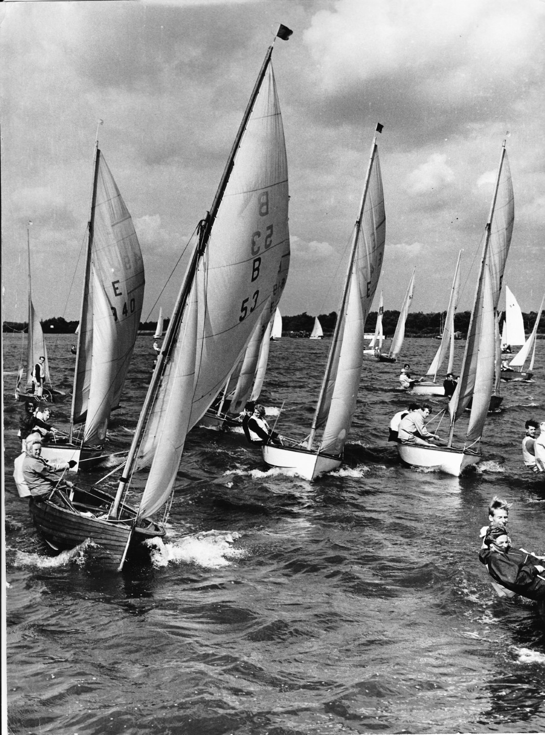 Barton Broad regatta - Sep 1965