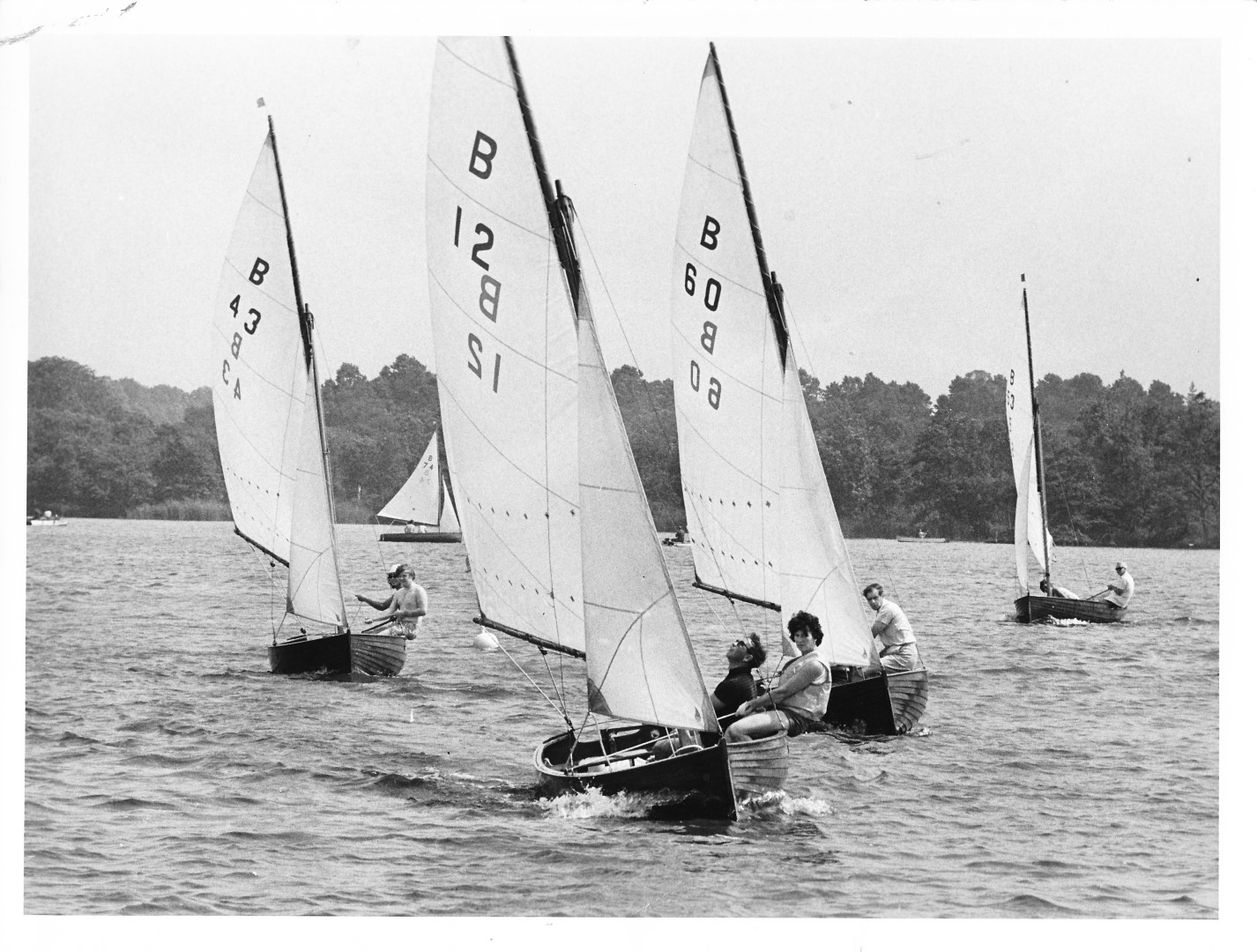 Marks Cup, Wroxham Broad 2nd Jul 1973