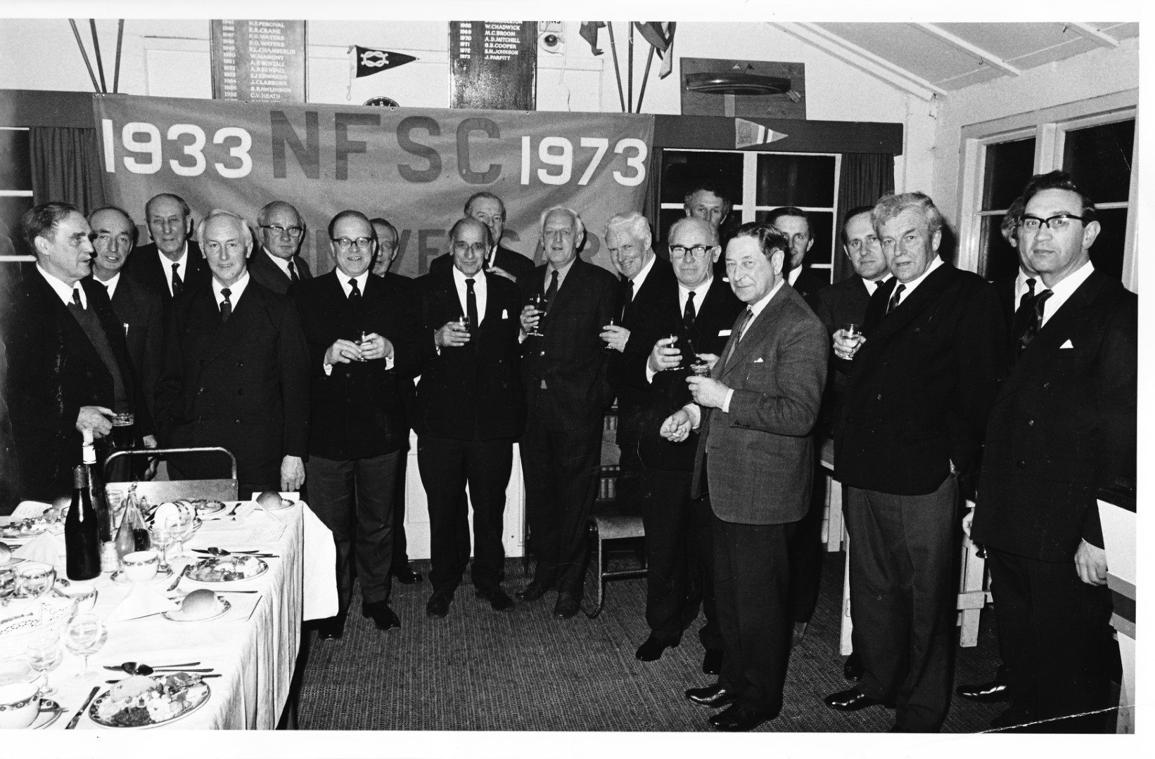 NFSC 40th Anniversary Celebration - March 1974