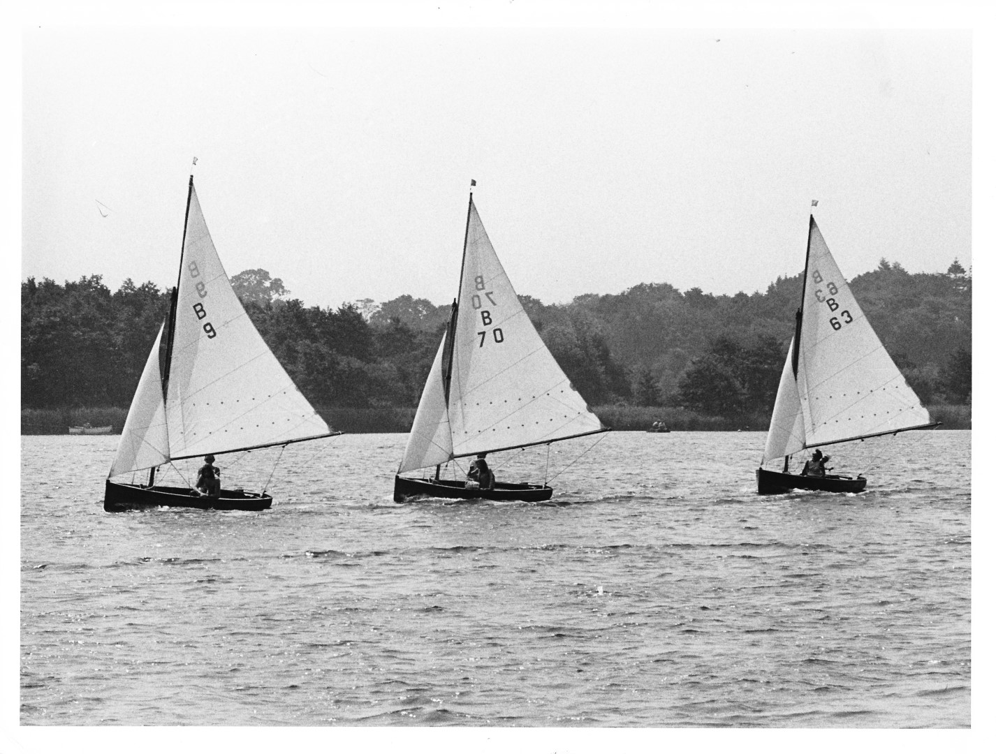 Norfolk Dinghy Weekend 30 Jun - 1 Jul 1973