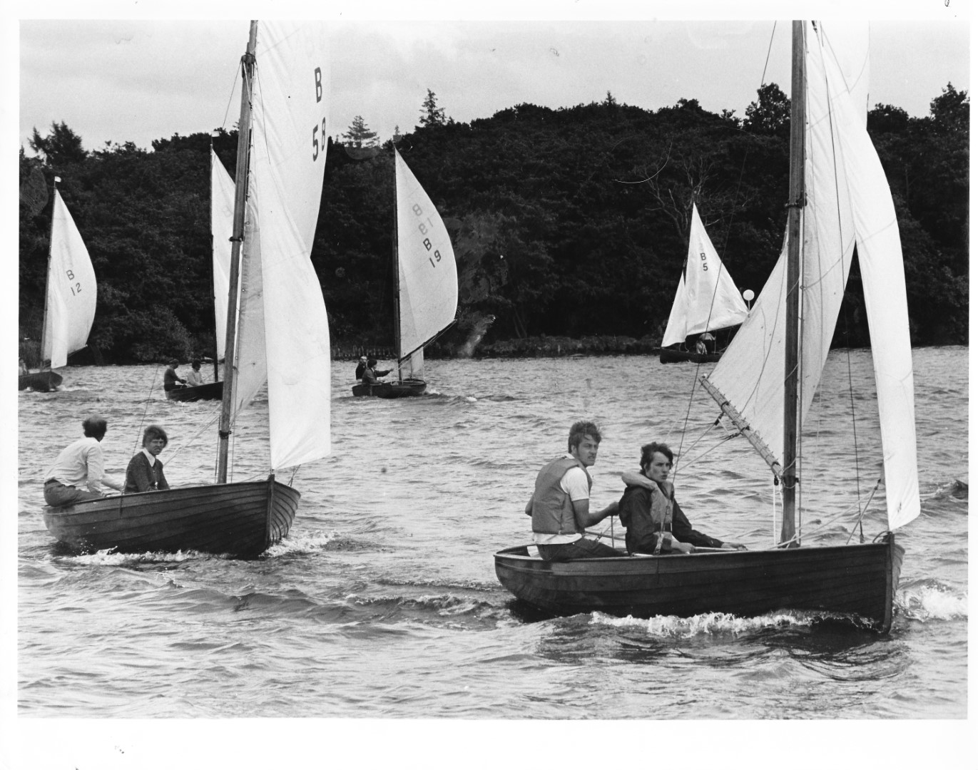 Norfolk Dinghy weekend Wroxham Broad 30.6.1972