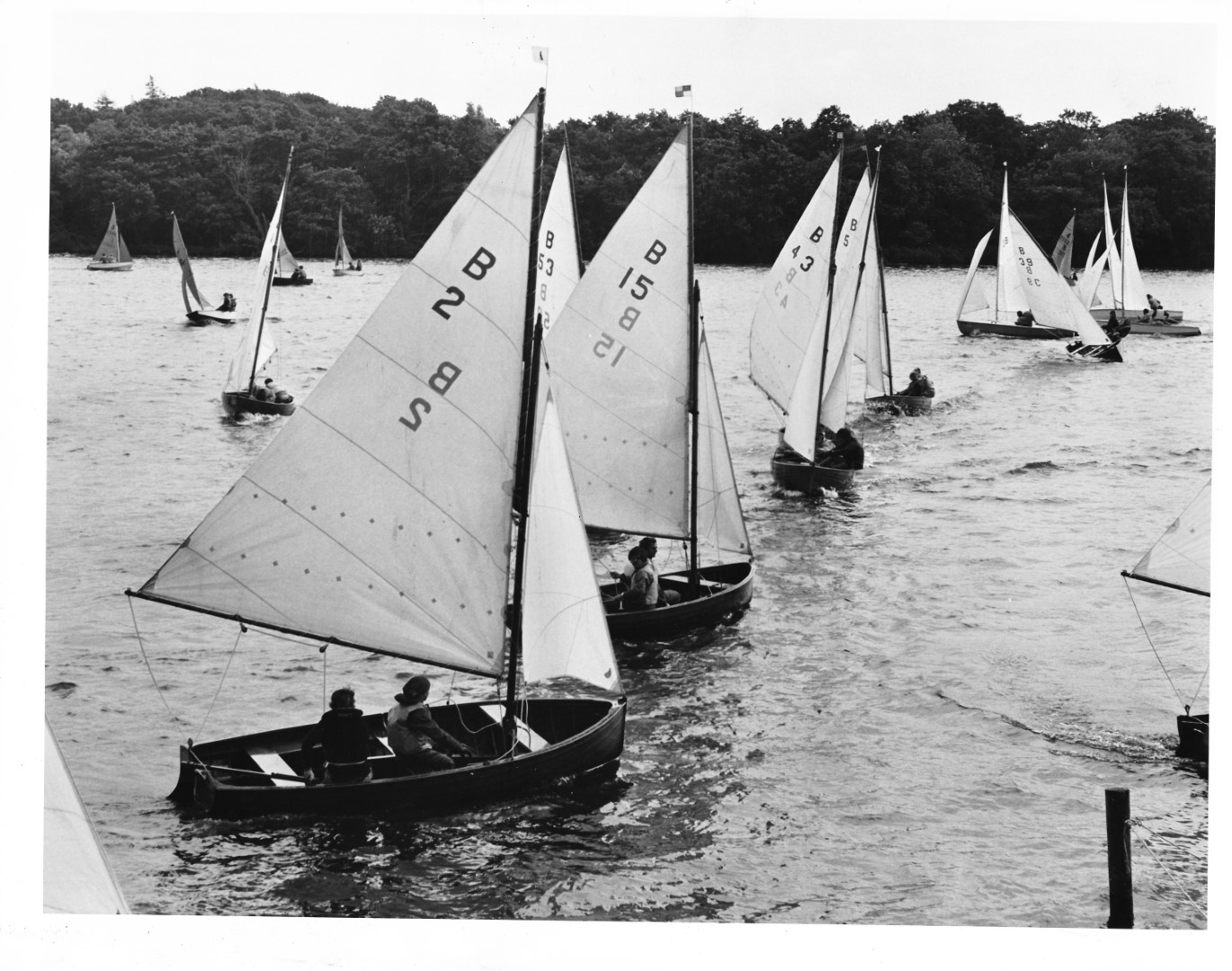 Norfolk Dinghy - Wroxham Week 24.07.1975