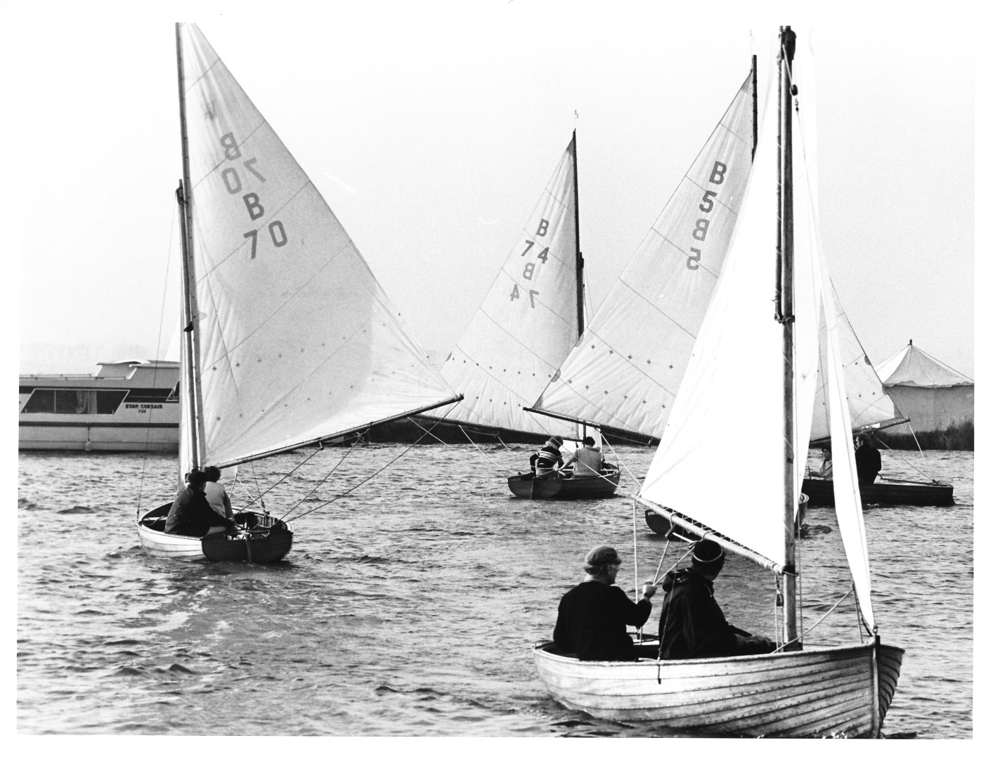 Norfolk World Championships - Thurne Mouth 16.10.77