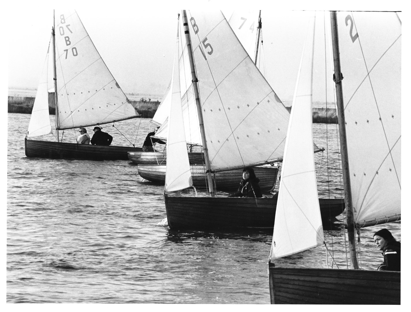 Norfolk Worlds - Thurne Mouth 16.10.77