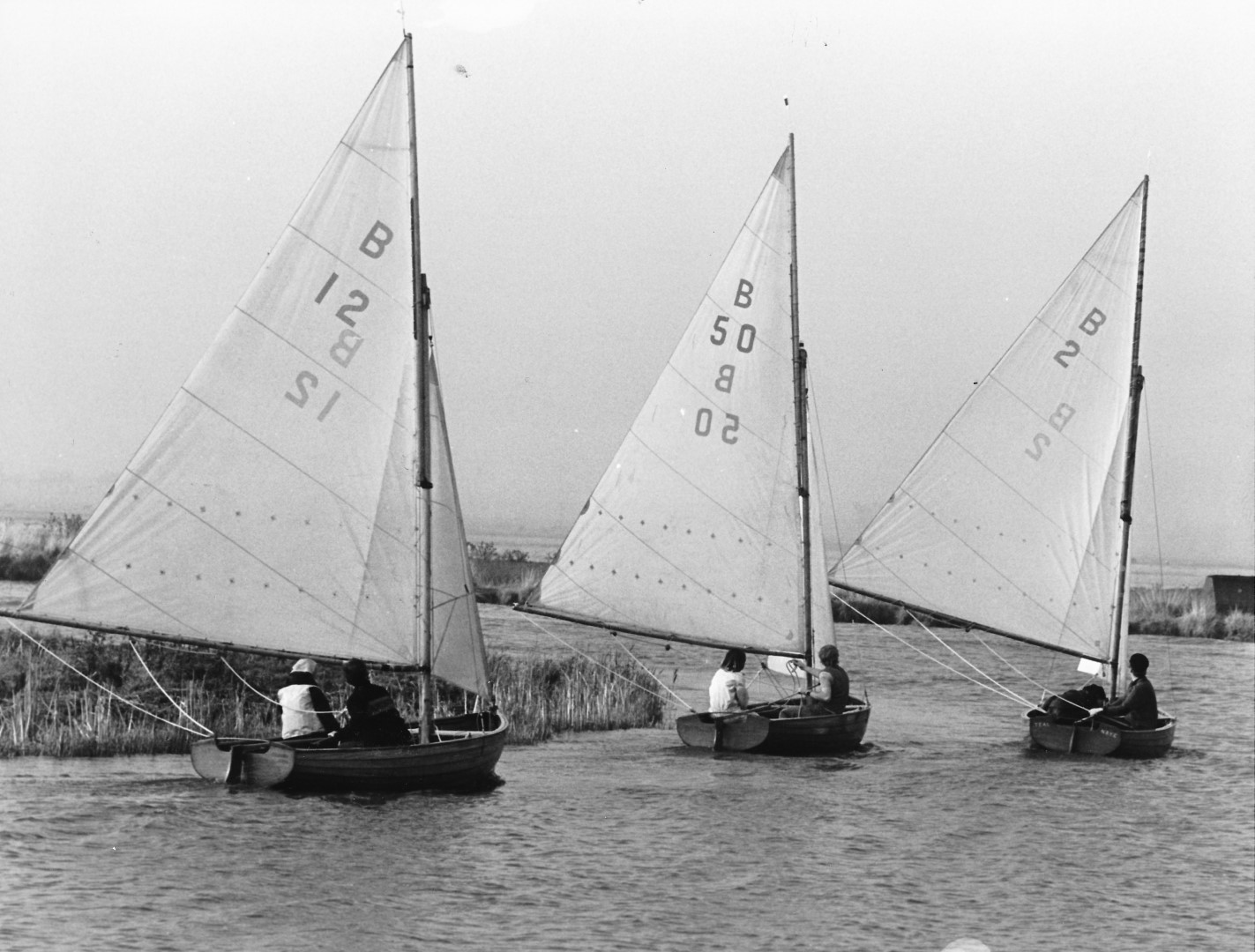 'Worlds' at Thurne Mouth Oct 1977