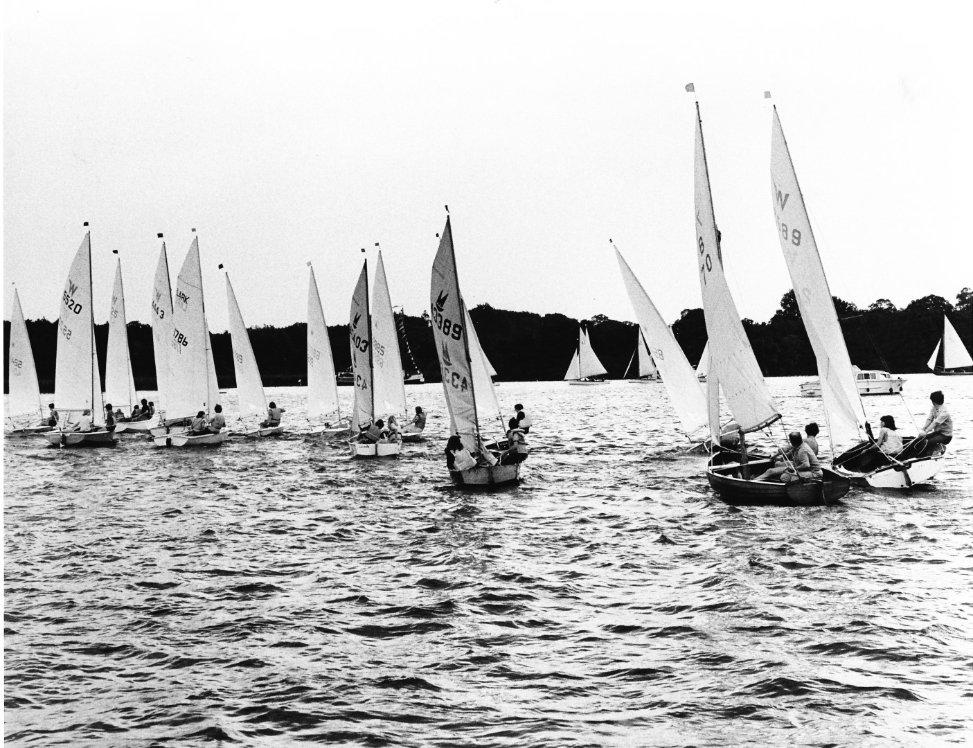 Wroxham Week allcomers race July 1979